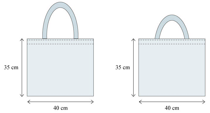 Tuto sac réutilisable - Tot bag